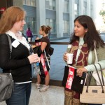 Networking - Richa and Kristina at break