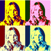 Cynthia Thomas 170x170 Headshot - Pop Art - Hot Mommas Project